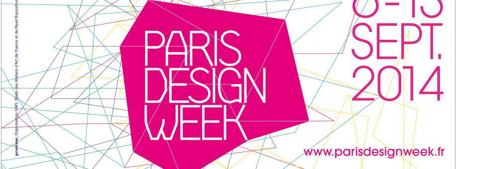 La rentrée du Design avec la PARIS DESIGN WEEK