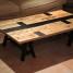 DIY : table de salon customisée avec des caisses de vin