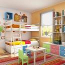 Une chambre pour plusieurs enfants : comment l'aménager ?